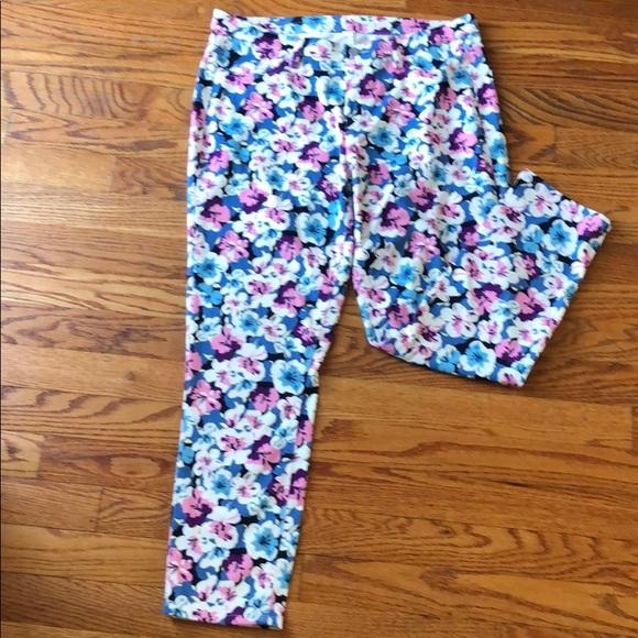 Uniqlo Denim - EUC Flower Print Stretch Jeans